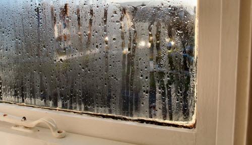 Condensatie raam